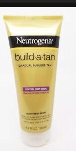 Neutrogena Build-a-Tan Gradual Sunless Tan, Light Fresh Scent, 6.7 fl. oz.