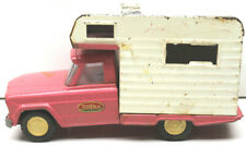 Awesome 1960s Pink Tonka Pickup Camper Truck Jeep Two-Tone Orig Condition Parts