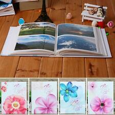 "4x6"" Floral Large Memories Photo Album Holder 100 Photos Storage Case Gift New"
