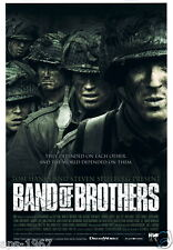 Band of Brothers TV film large size promo poster 101st Airborne 506th PIR