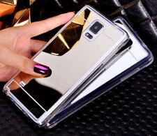 Espejo de lujo Moda Funda para teléfonos Samsung Galaxy Suave Claro Tapa De Poliuretano Termoplástico Skins