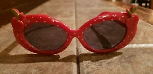 Gymboree Girl's Cherry Cute Sunglasses Clothing Line July 2012 Excellent