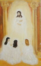 REALIST OIL PAINTING VINTAGE ICON PAINTING JESUS CHRIST