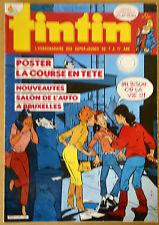 BD Comics Magazine Hebdo Journal Tintin No 4 41e Poster La Course en Tête