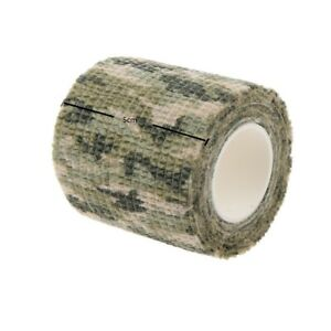 Waterproof Camouflage Tape Hunting Gun Tool Camo Duct Wrap Stretch Bandage US