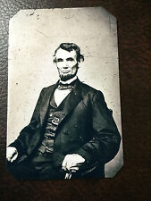 tintype Of President Abraham Lincoln Civil War  C884RP