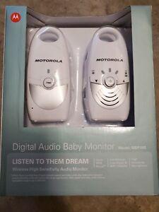 Motorola Wireless Digital Audio Baby Monitor Model: MBP10S