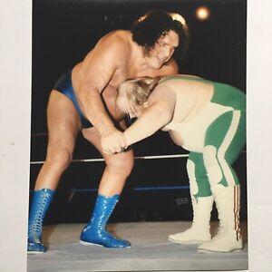 Andre The Giant 8x10 Rare Wrestling Photo Print WWF NWA WWE HOF