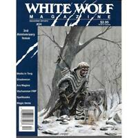 White Wolf Magazine 24 Roleplaying Fantasy books December 1991 role play RARE