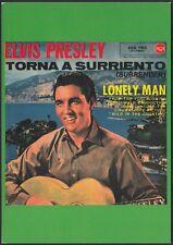 AA8239 Elvis Presley - Torna a Surriento - Cartolina postale - Postcard