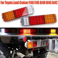 LED Fanale Posteriore Lampada Luce Per Toyota Land Cruiser FJ40 FJ45 BJ40