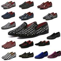 Fashion Men's Minimalism Driving Loafers Flat Casual Sneakers Slip On Moccasins