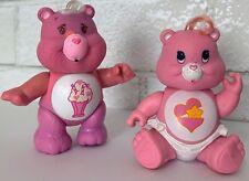 Vintage Care Bears Poseable PVC Figure Lot Baby Hugs & Share Bear 1983 84 AGC