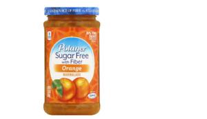Polaner Sugar Free with Fiber Orange Marmalade 13.5 oz Pack of 2