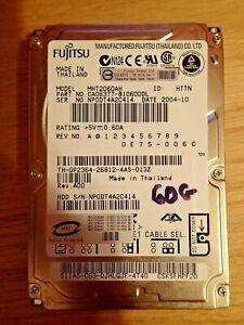 "Fujitsu 60GB 5400RPM 2.5"" IDE Hard Drive HDD - MHT2060AH Laptop Notebook"