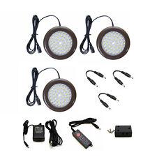 Lightkiwi H4294 3.5 inch Warm White LED Puck Lights Premium Kit - 3 Pack Kit