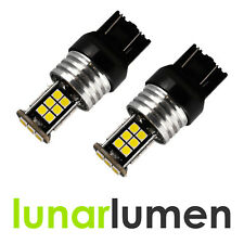 2 x Lunar Lumen W21/5W T20 20W LED CANBUS 580 7443 DRL Super White Bulbs