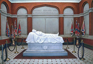 Robert E Lee's Memorial - by John Paul Strain - Signed Studio Canvas Giclée