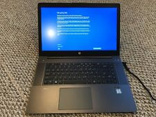 "HP ZBook Studio G3 15"" i7-6820HQ, 16GB RAM, 256GB SSD, NVIDIA M100M, Win10"