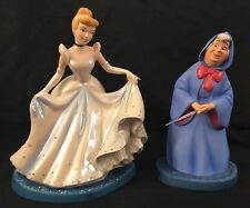 WDCC Disney Cinderella & Fairy Godmother A Magical Transformation Figurine Dress