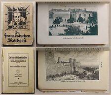 Oettinger In französischen Kerkern um 1925 Militärgeschichte 1. Weltkrieg xz