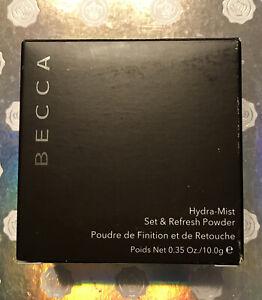 BECCA Hydra-Mist Set & Refresh Powder - Full Size 0.35 oz New in Box