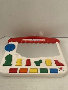 Vtech Little Smart Press 'N Play Mirror, Tested & Working Button & Sounds