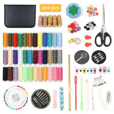 Sewing Kit, 200 Premium Sewing Supplies 41 XL Thread Spools Suitable for Home
