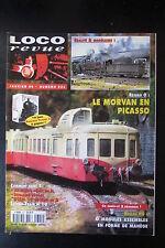 MODELISME FERROVIAIRE TRAIN MAGAZINE LOCO REVUE N° 621 de 1999
