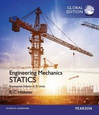 Engineering Mechanics: Statics in SI Units by Hibbeler (Global Edition)