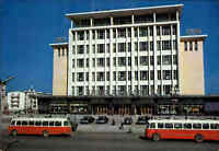 ULAN BATOR Ulaanbaatar Mongolei Mongolia Departement Store Building, Bus, color