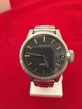 NIXON CHRONICLE 44 WITH BRASS # NAVY A4412076  100% AUTHENTIC & NEW WITH BOX