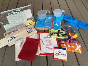 ShillerMath Kit I - Homeschool Montessori Math Curriculum - (Pre-K to 3rd Gra...