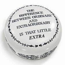 DESK ACCESSORIES - ORDINARY & EXTRAORDINARY PAPERWEIGHT - MENS GIFTS