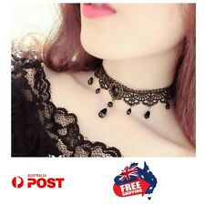 Black Velvet Lace Choker Necklace Fashion Women Pendant Gothic Jewelry Strad