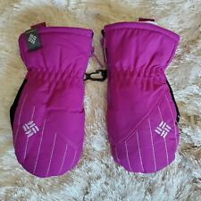 Columbia One Size Toddler Purple Thermal Mittens