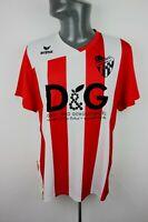 Turk FV Erlenbech erima red white Football shirt trikot Mens L Large 1166