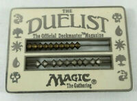 Magic The Gathering MTG The Duelist Abacus White Life Counter 1996 WOTC