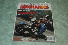 Classic Motorcycle Mechanics Magazine Kawasaki V8 Turbo Bikes Harley XR1000