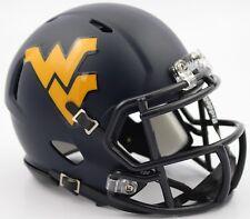 WEST VIRGINIA MOUNTAINEERS NCAA Riddell SPEED Authentic MINI Football Helmet WVU