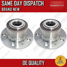 SEAT IBIZA Mk5,Mk6 FRONT WHEEL BEARING + HUB PAIR (2x) 2002>on WITH ABS