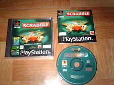 SCRABBLE...jeu complet...sur PS1