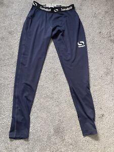 Men's Sondico Compression Skins Leggings Size XL Navy