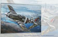 P-51B Mustang III 315 Squ E Horbaczewski - Aviation Art Canvas print