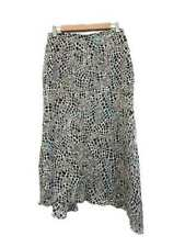 Silk Regular Size Asymmetrical Skirts for Women