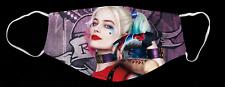 Harley Quinn Margot Robbie Custom Face Mask