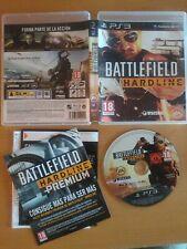 Battlefield Hardline juego original play3 play station 3