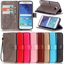 Luxus Handy Tasche Flip Cover Case Schutz Hülle Etui Wallet W/ Riemen Klapp Buch