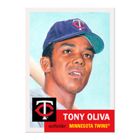 Topps MLB® Living Set® Card #366 - Tony Oliva Minnesota Twins pre order