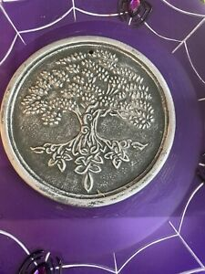 Tree Of Life plaque Wiccan Witch Latex Rubber Mould mold Garden Sign Pagan